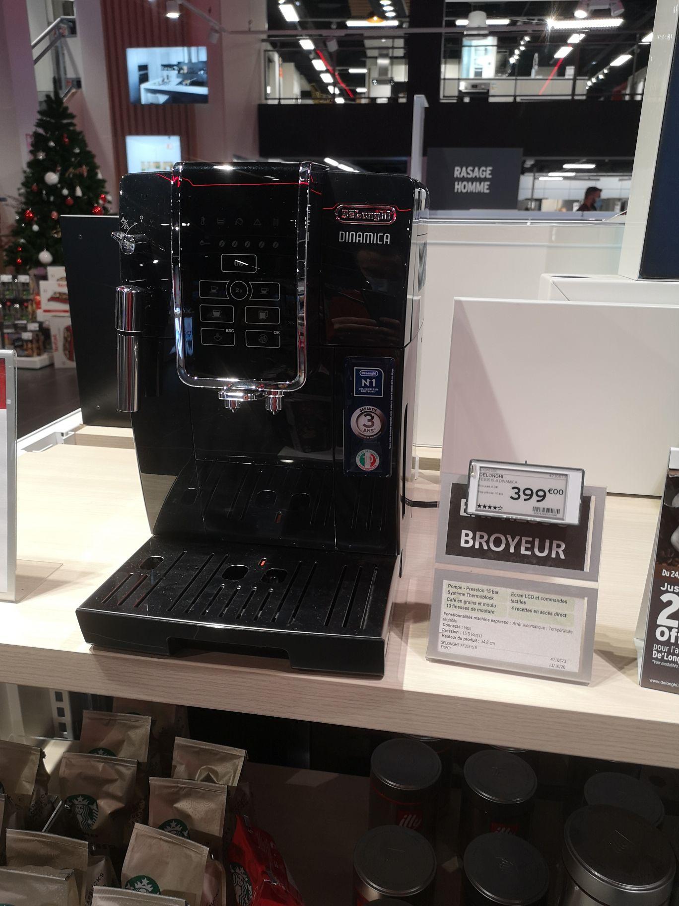 Machine à café automatique Delonghi Dinamica FEB 3515 - Le Havre (76)