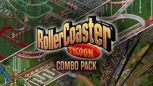Combo Pack RollerCoaster Tycoon 2 + 3 + Deluxe (Dématérialisé - Steam)