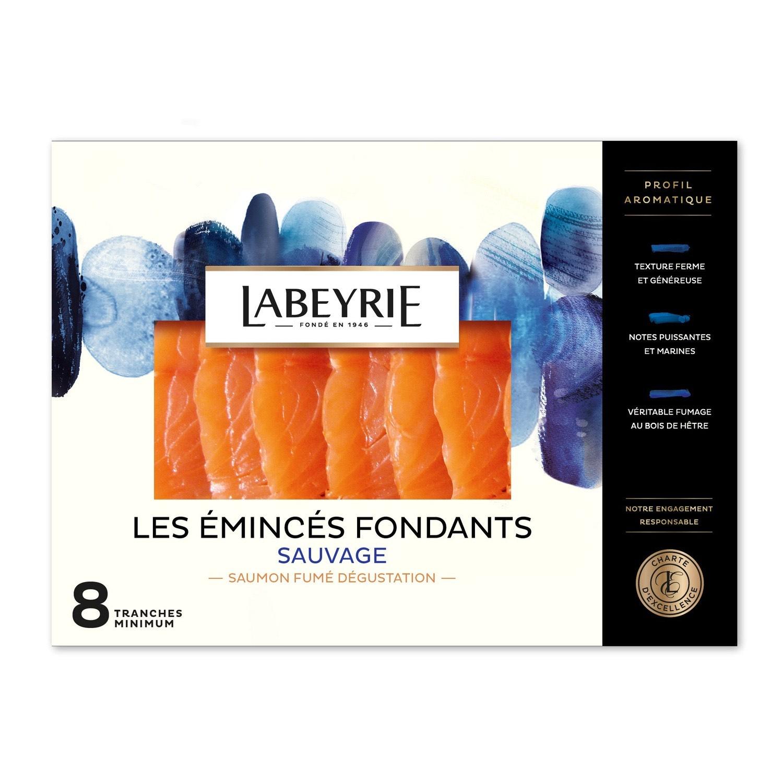 Paquet de Saumon fumé Labeyrie pacifique (Via BDR de 2€ et 3.27€ sur la carte fidélité) - Pont Sainte Maxence (60)