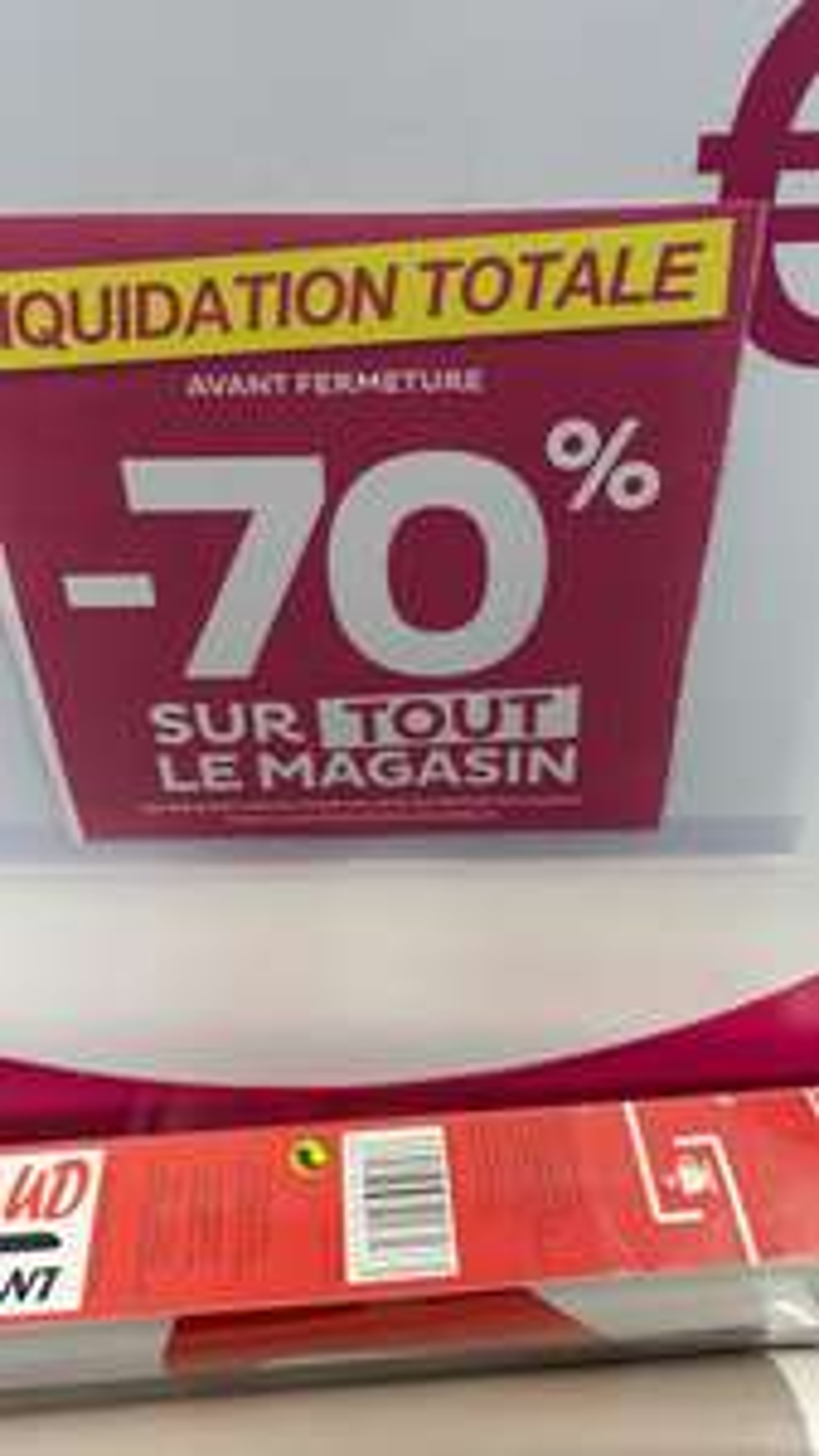 70% de réduction sur l'ensemble du magasin - Agde (34)
