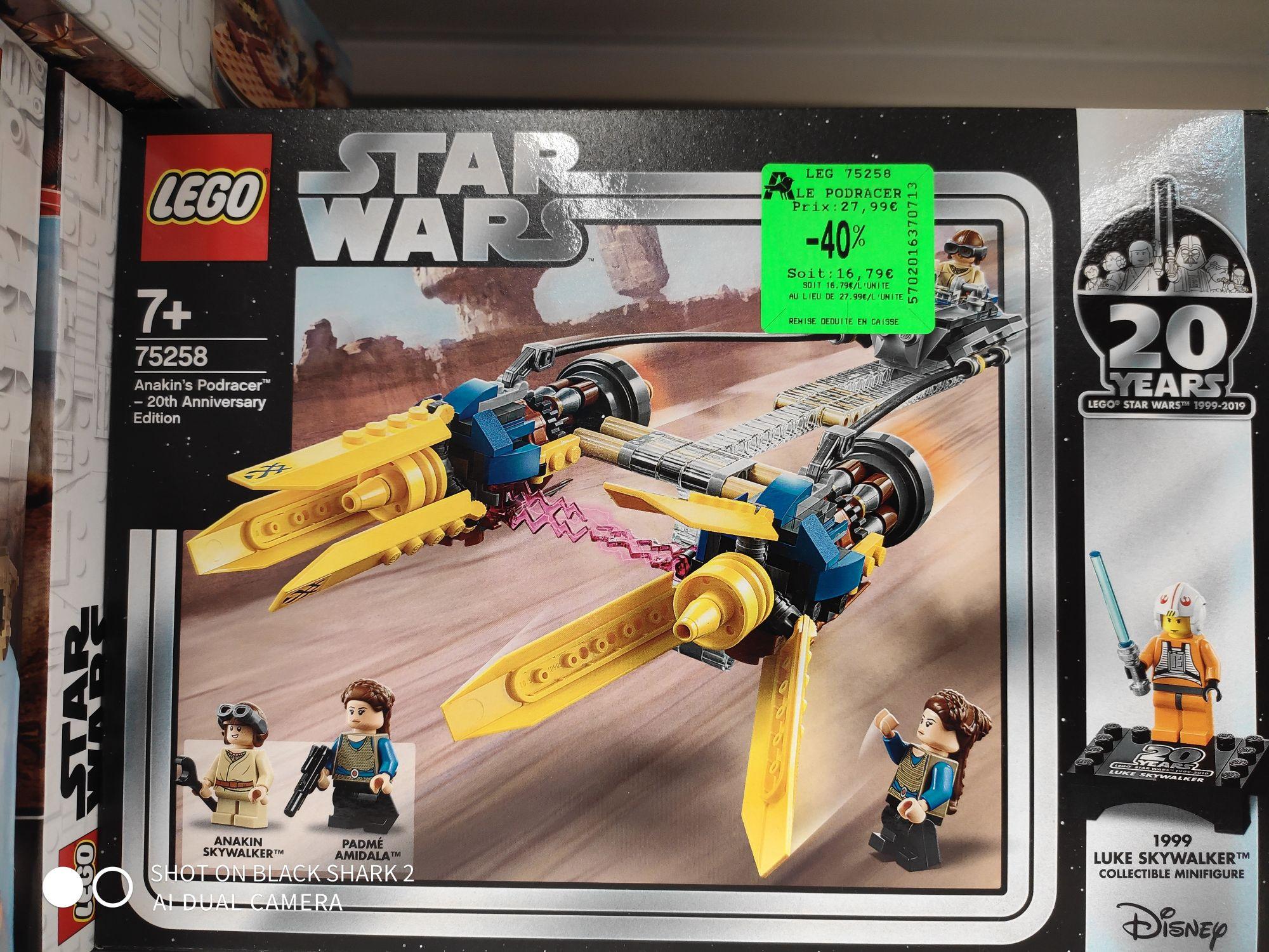Jeu de construction Lego Star Wars : Le Podracer d'Anakin n°75258 - Viry Noureuil (02)