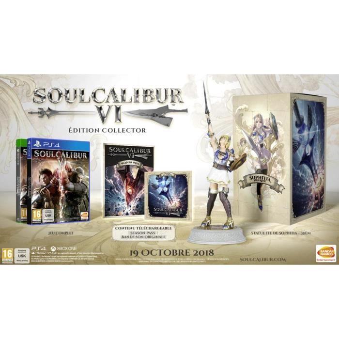 Soul Calibur VI Collector édition sur Ps4 ou Xbox One