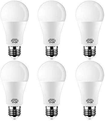 Lot de 6 ampoules LED E27 Tofisr - blanc chaud 2700k, 14W (Vendeur tiers)