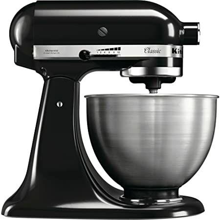 Robot Patissier KitchenAid 5K45ssewh Noir (Via 174.5€ sur la carte fidélité ) - Rivière La Rochefoucauld (16)