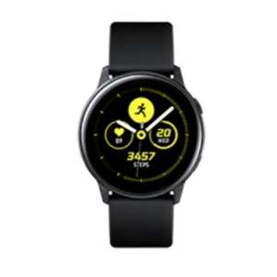 Montre Samsung connectée Galaxy Watch Active Noire (Via ODR de 70€)