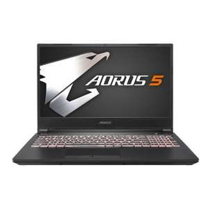 "Pc Portable 15.6 "" Gigabyte Aorus 5 KB-7ES1130SD - FullHD IPS 144Hz - RAM 16Go - i7-10750H - RTX 2060 - SSD NVMe 512Go (Qwerty)"
