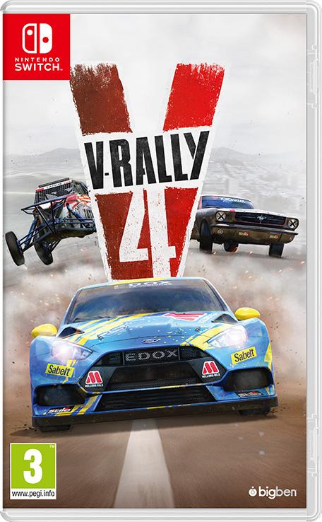 Jeu V rally 4 sur Nintendo Switch (Dématérialisé)