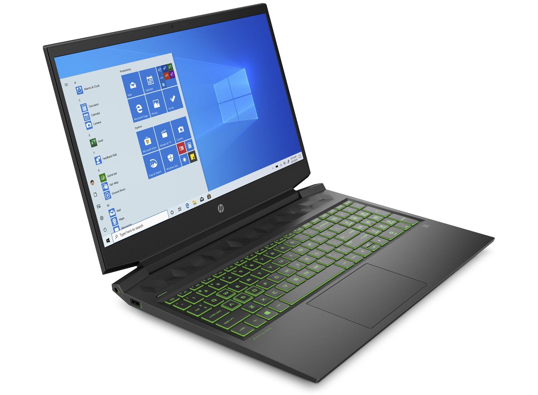 """PC Portable 16"""" HP Pavilion 16-a0031nf - i5-10300H, GTX 1650 Ti (4 Go), 16 Go de RAM , 1 To HDD + 256 Go SSD + Windows 10"""
