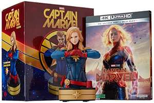 Coffret Blu-ray 4K + Statuette Captain Marvel (Vendeur tiers)