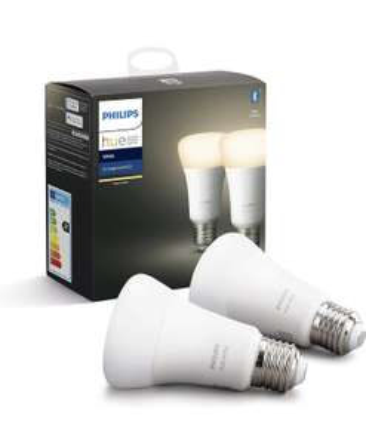 Pack de 2 ampoules connectée Philips Hue LED - E27