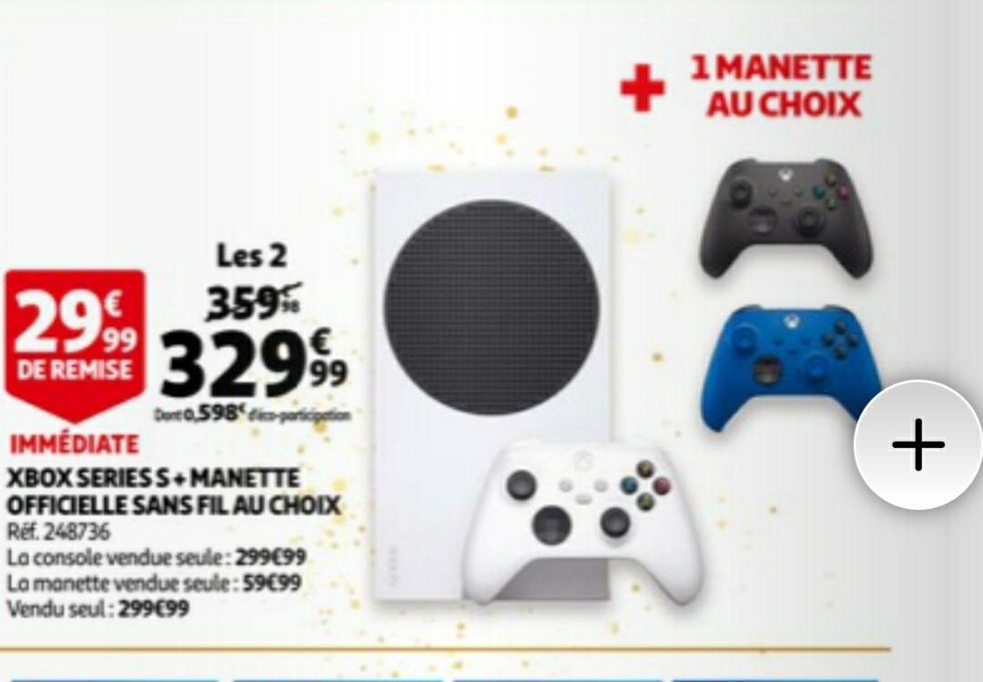 Console Microsoft Xbox Series S + 1 Manette sans fil Microsoft