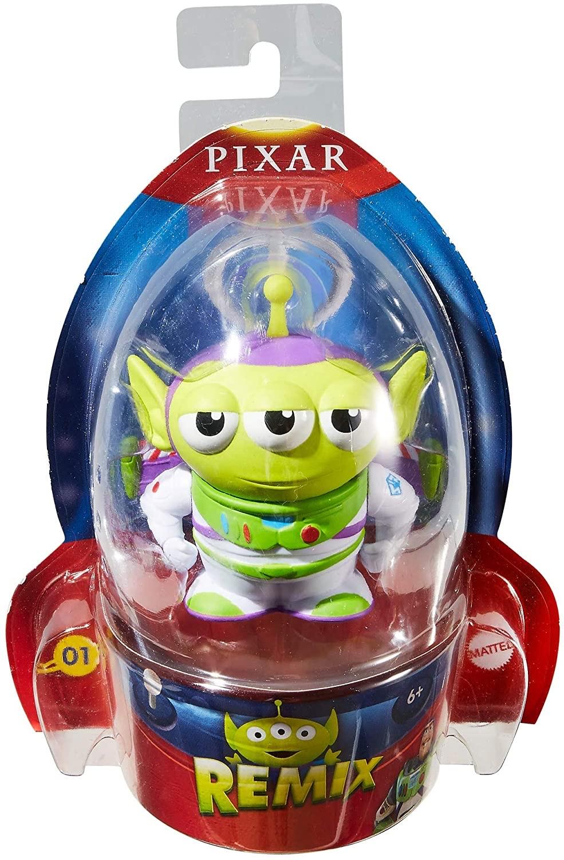 Figurine Disney Pixar Remix - L'Alien déguisé en Buzz l'Éclair - Toy Story