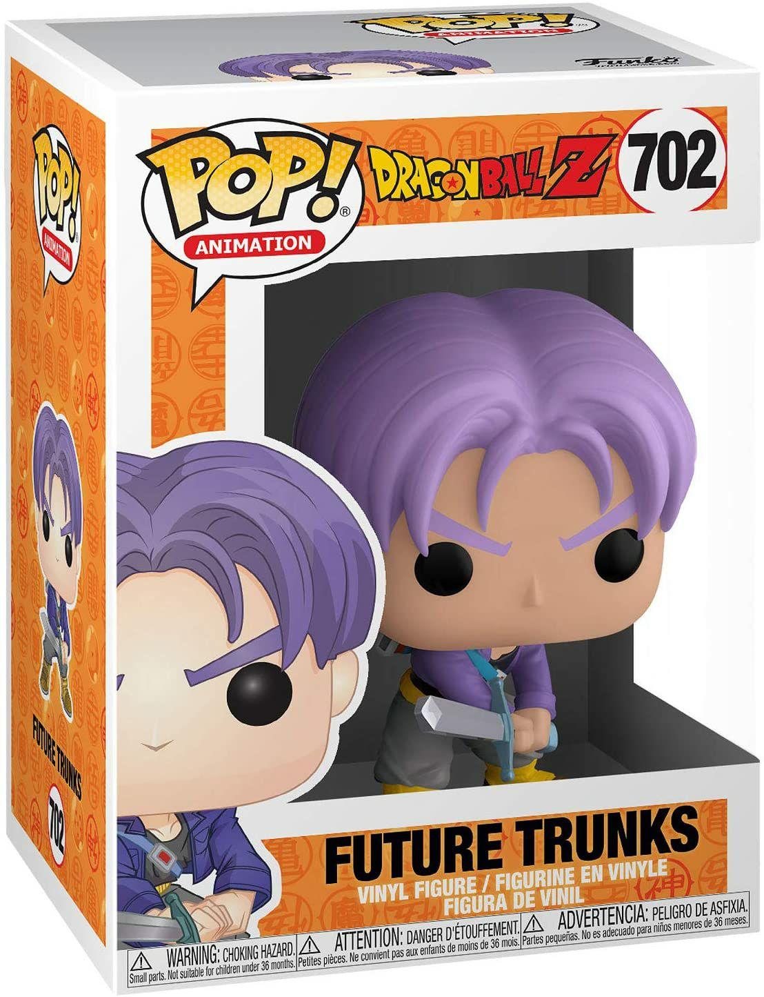 Figurine Funko Pop Dragon Ball Z - Trunks du futur