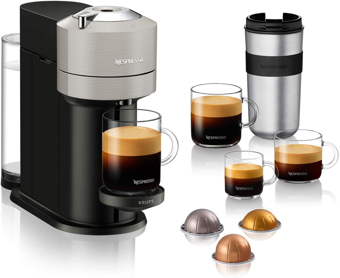 Cafetière à capsules Nespresso Vertuo Next YY4298FD - Gris