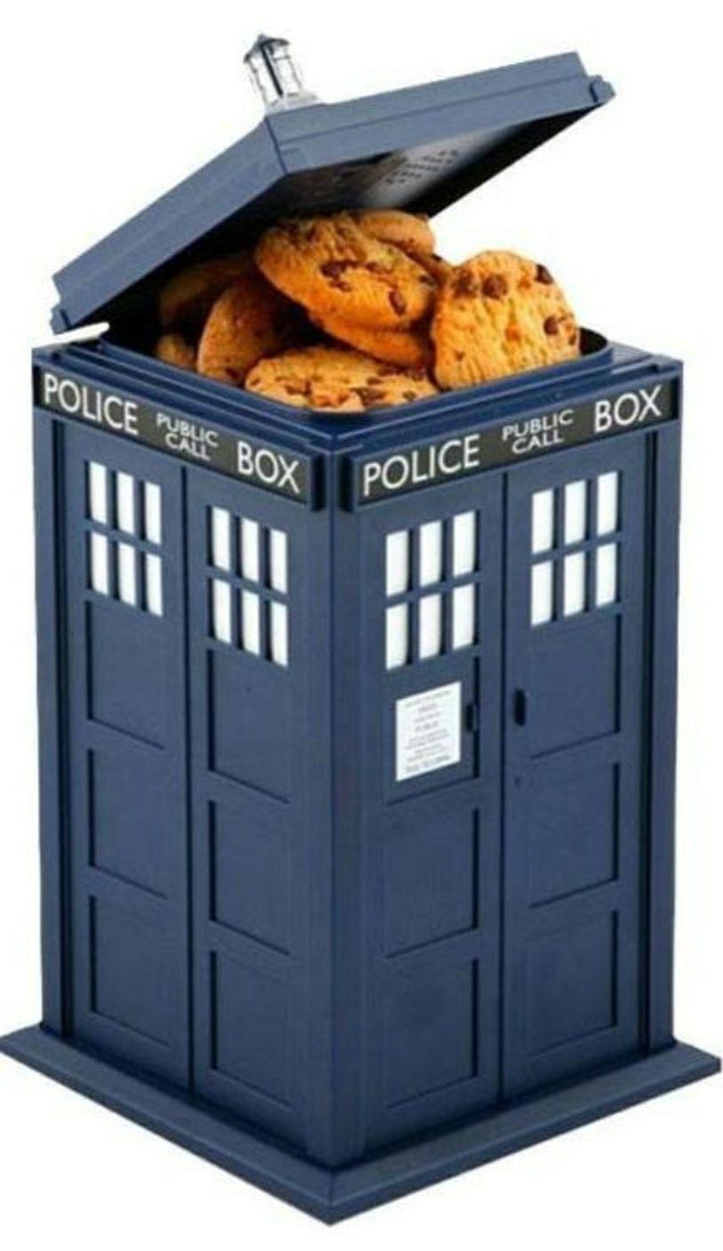 Boîte à gâteaux Wesco Doctor Who Tardis Lumières et Sons