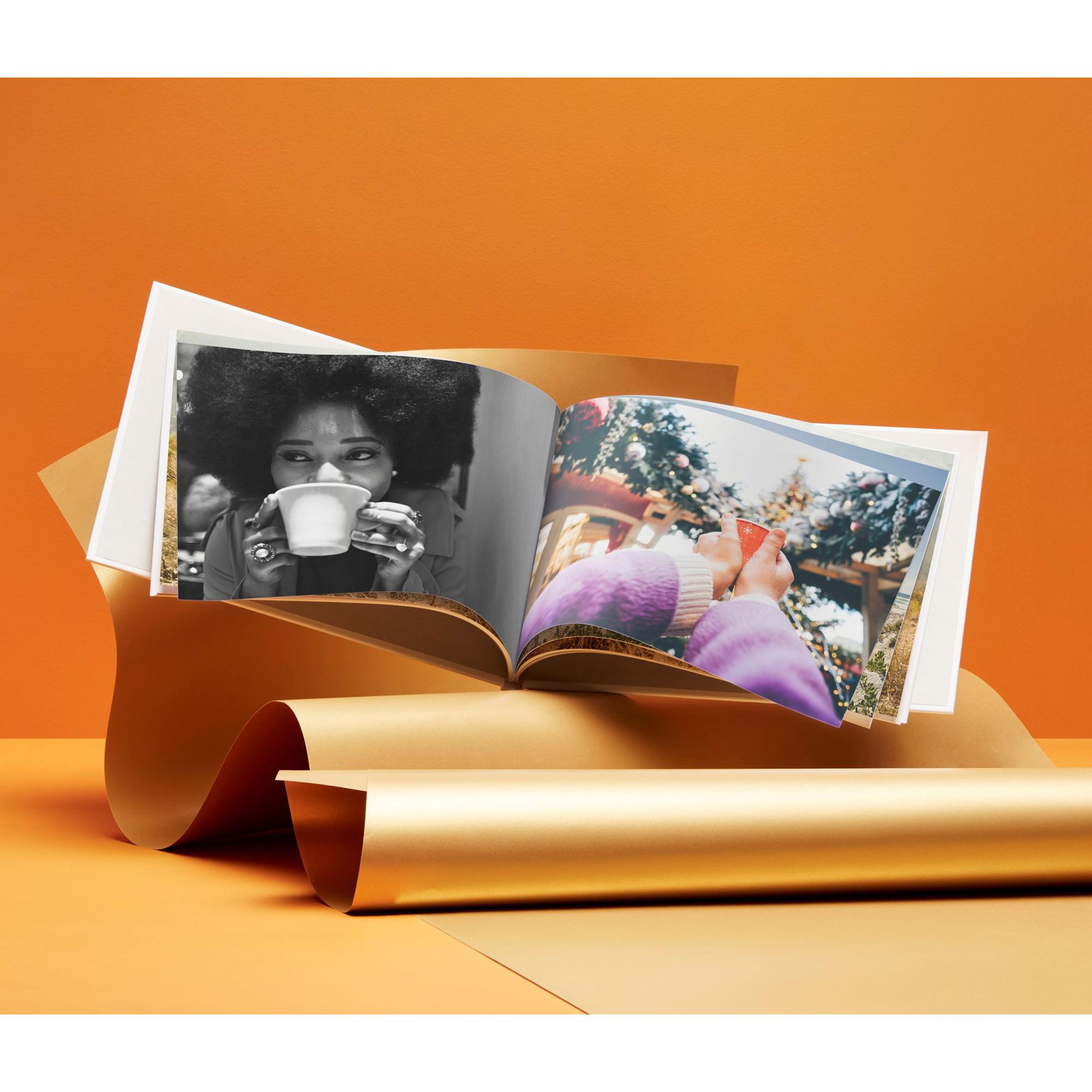 Livre Photo A4 Photobox - Couverture Rigide, Format Paysage, 26 pages