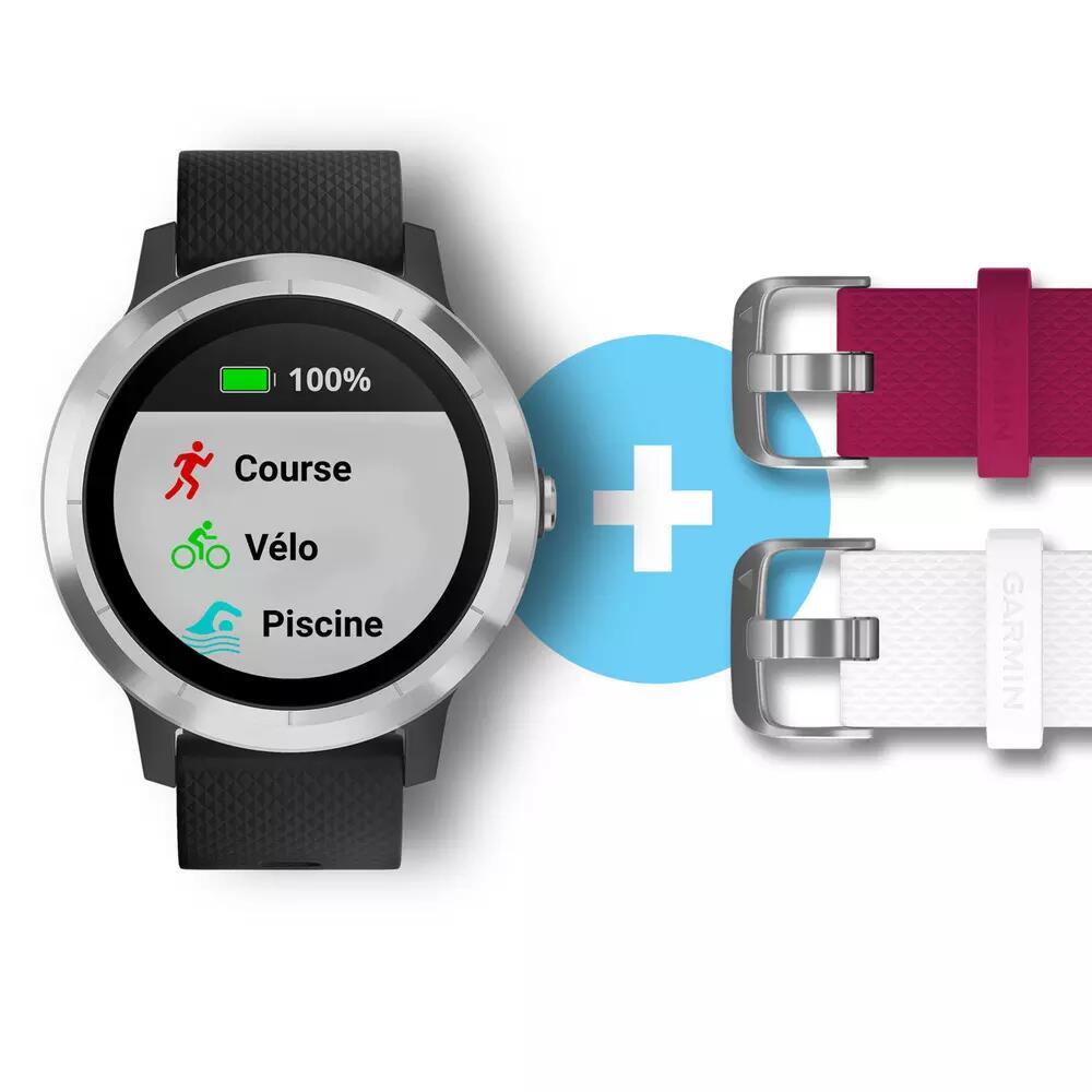 Montre Connectée de Sport GPS Garmin Vivoactive 3 - Edition Noël