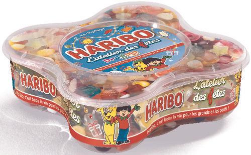 Lot de 3 boîtes de bonbons Haribo - 3 x 750g