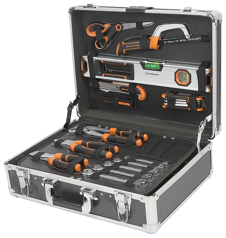 Boîte à outils Magnusson - 119 pièces