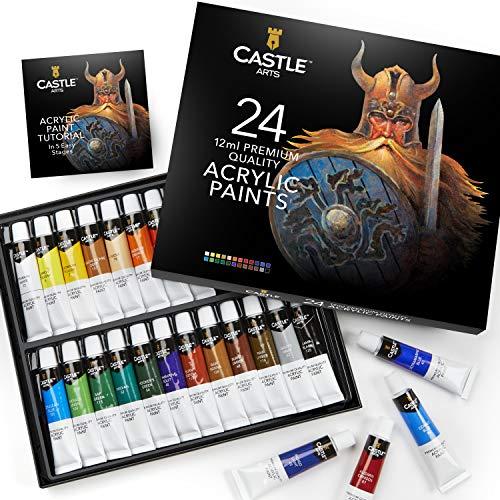 Peinture acrylique Castle Art - 24x12ml (Vendeur tiers)
