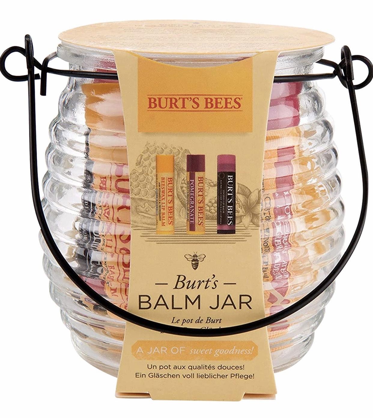 Coffret Burt's Bees Baume