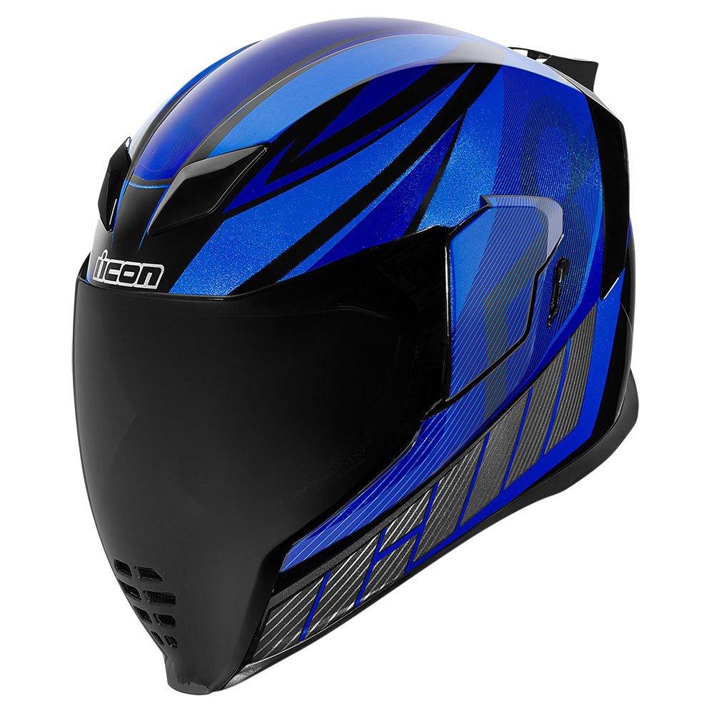 Casque moto Icon Airflite QB1 - Bleu