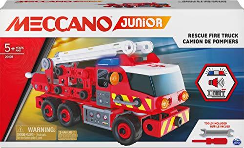Jouet Camion de Pompiers Meccano 6056415