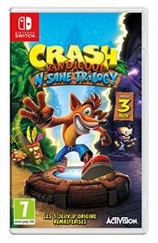 Jeu Crash Bandicoot N.Sane Trilogy sur Nintendo Switch
