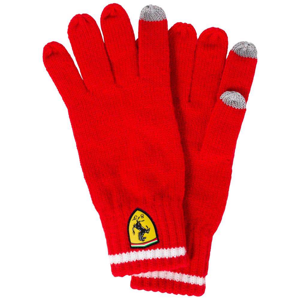 Gants d'hiver Scuderia Ferrari Knitted