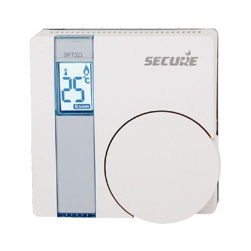 Thermostat secure zwave avec actionneur intégré