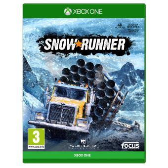 SnowRunner sur Xbox One Et PS4