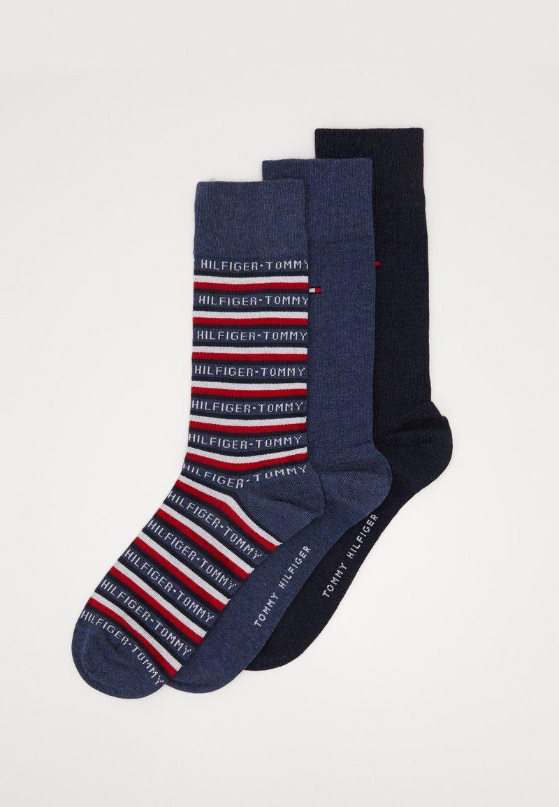 Lot 3 paires de chaussettes Tommy Hilfiger Giftpack - 39 à 46