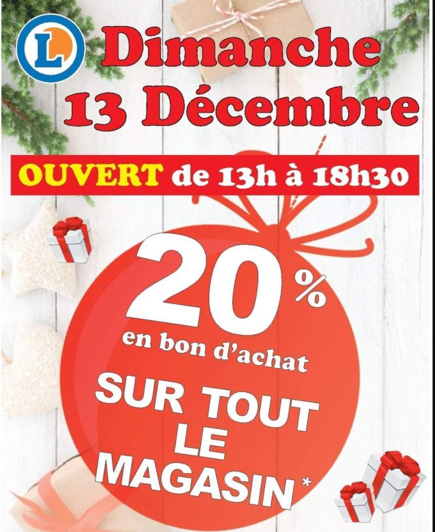 20% de réduction en bon Achat sur tout le magasin (hors exceptions) - Wasselonne (67)