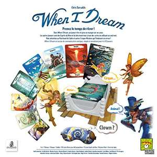 Jeu de société When I Dream - Asmodee