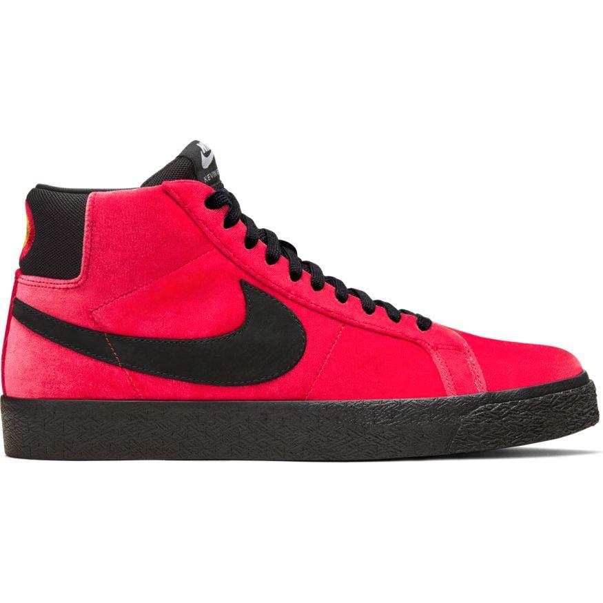 Kevin Bradley x Nike SB Blazer Mid University Red Black (snowbeach.com)