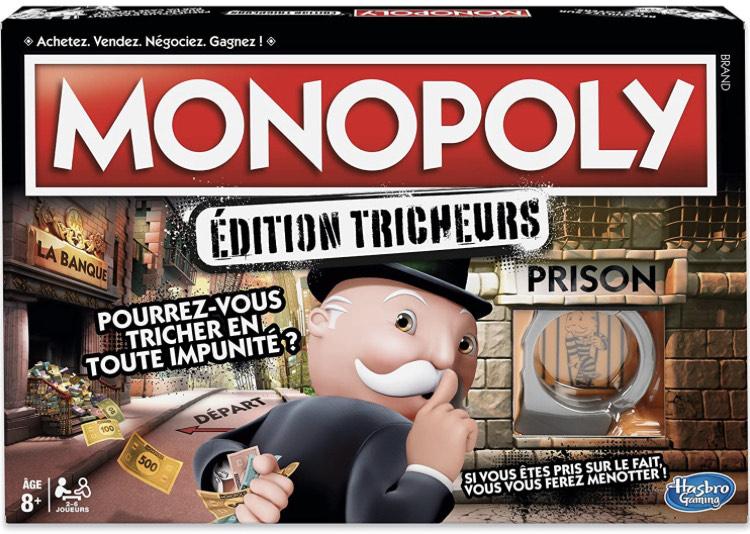 Jeu de société Hasbro Gaming Monopoly Tricheurs
