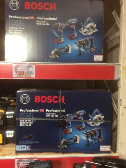 Pack Bosch Pro 18V - Quai d'Ivry Paris (75)