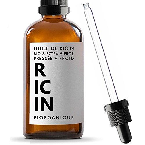 Huile de Ricin 100% Bio, Pure et Naturelle - 50 ml (vendeur tiers)