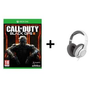 Pack Call of Duty Black Ops III (Xbox One ou Ps4) + Casque Gaming Steelseries Raw Siberia