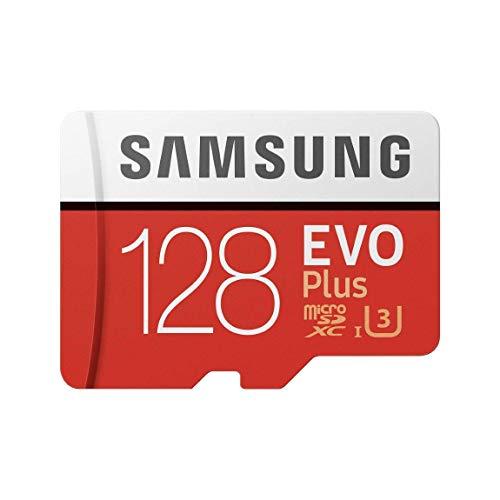 Carte mémoire microSD Samsung Evo Plus - 128 Go avec adaptateur SD (vendeur tiers)