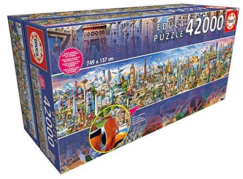 Puzzle 42000 pièces Educa 17570: Le tour du monde