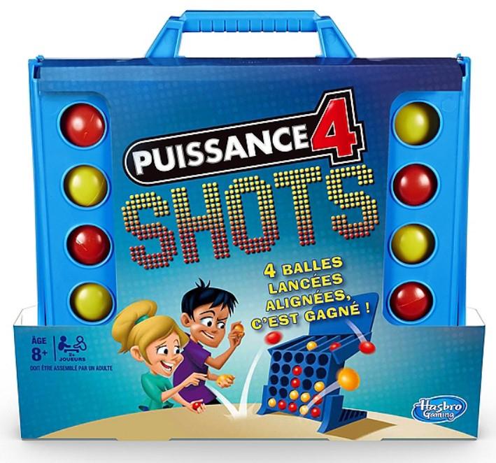 Jeu de société Hasbro Puissance 4 Shots
