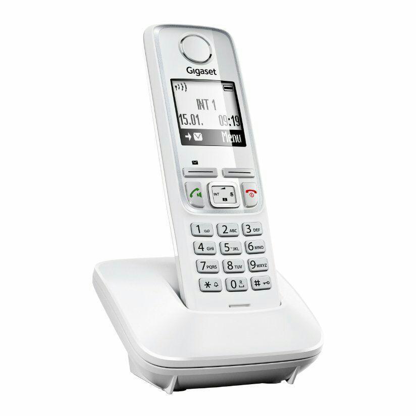 Téléphone solo DECT/GAP Gigaset A420 - Blanc