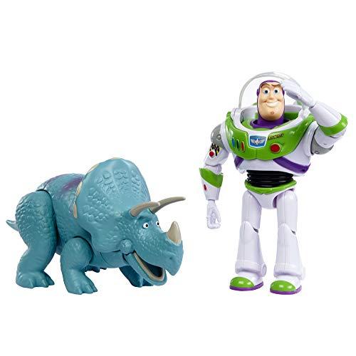 Figurine articulée Toy Story 4 - Buzz l'Éclair et Trixie (Vendeur Tiers)