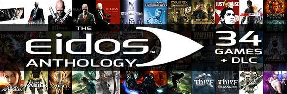Eidos Anthology: 34 jeux et DLC sur PC (Dématérialisé)