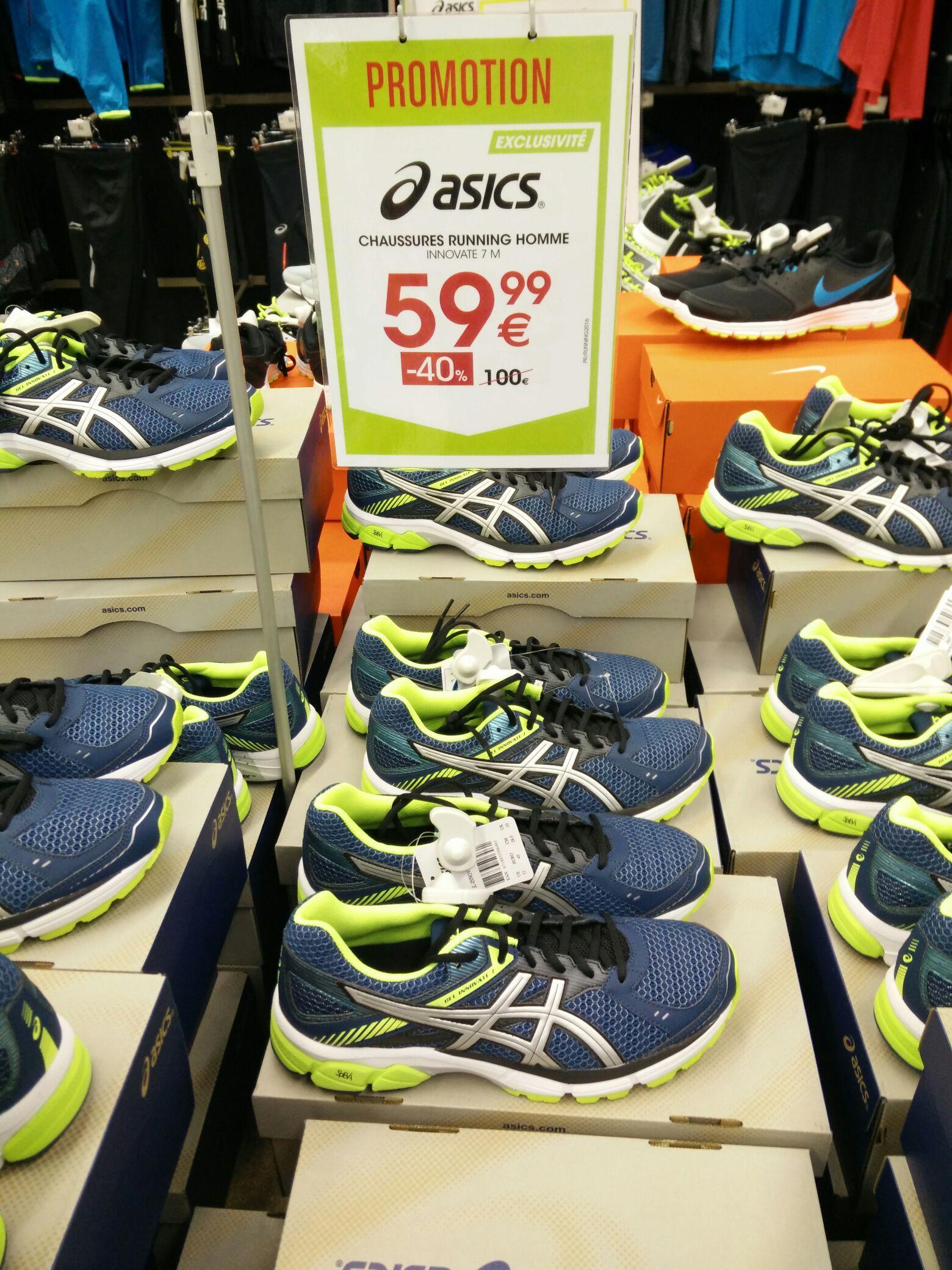 Chaussures de Running Homme Asics Innovate 7M