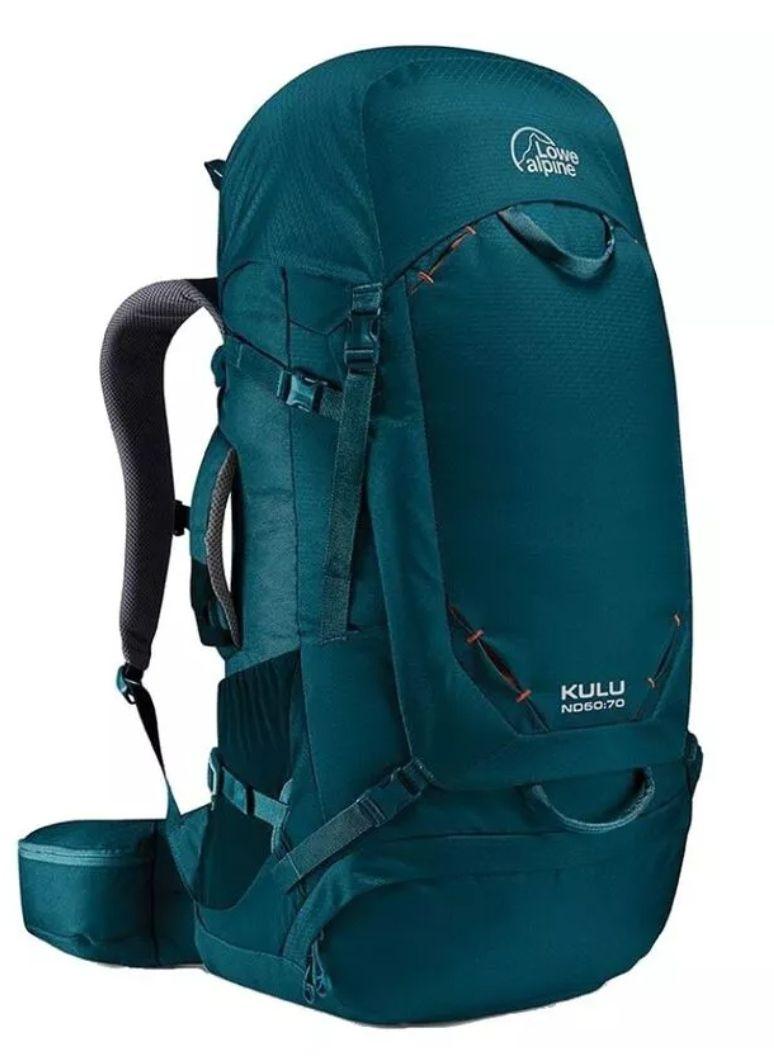 Sac à dos Lowe Alpine Kulu ND 60:70 pour Femme - 60L, Vert