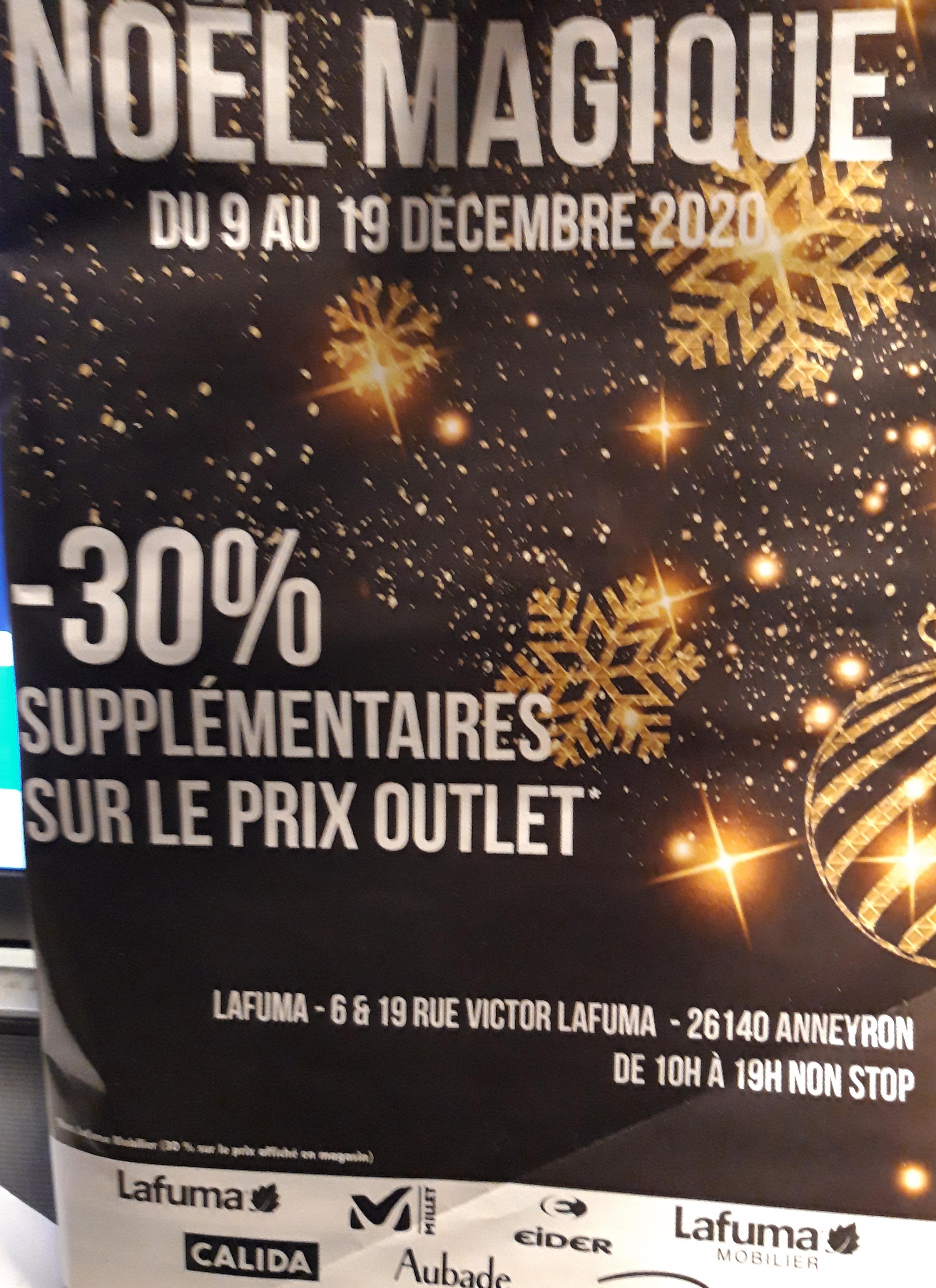 30% de réduction sur le prix outlet - Anneyron (26)