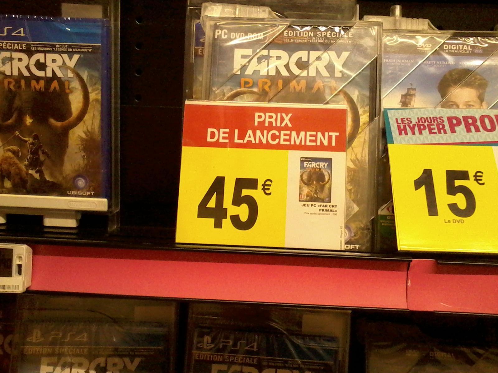 Far Cry Primal sur PC