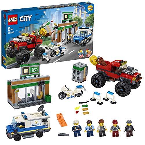 Jeu de Construction Lego - Le cambriolage de la banque (60245).
